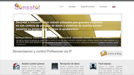 captura Sensatel web