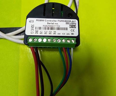 Z-WAVE LED CONTROL RGBW