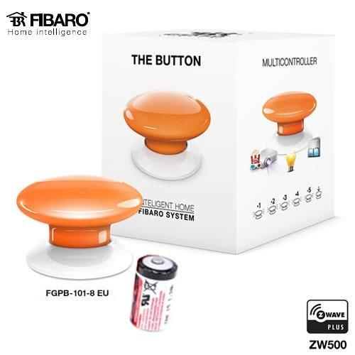 Botones de Alarma de p/ánico Fibaro The Button Inal/ámbrico Alarma Bot/ón de Alarma de p/ánico Inal/ámbrico, Alarma, Negro, Color Blanco, Bater/ía