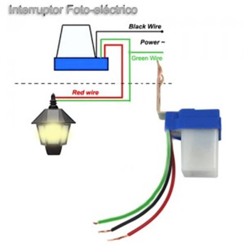 Sensor Fotoel 233 Ctrico 6a Para Encendido Iluminaci 243 N Noche