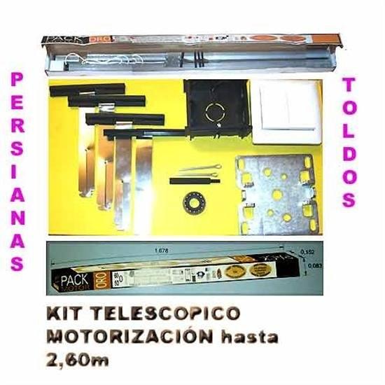 Kit motor control persianas hasta 2 60m persianas motorizadas for Kit de persianas