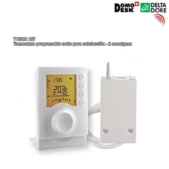 Tybox 137 termostato programable radio para calefacci n - Termostato para calefaccion ...
