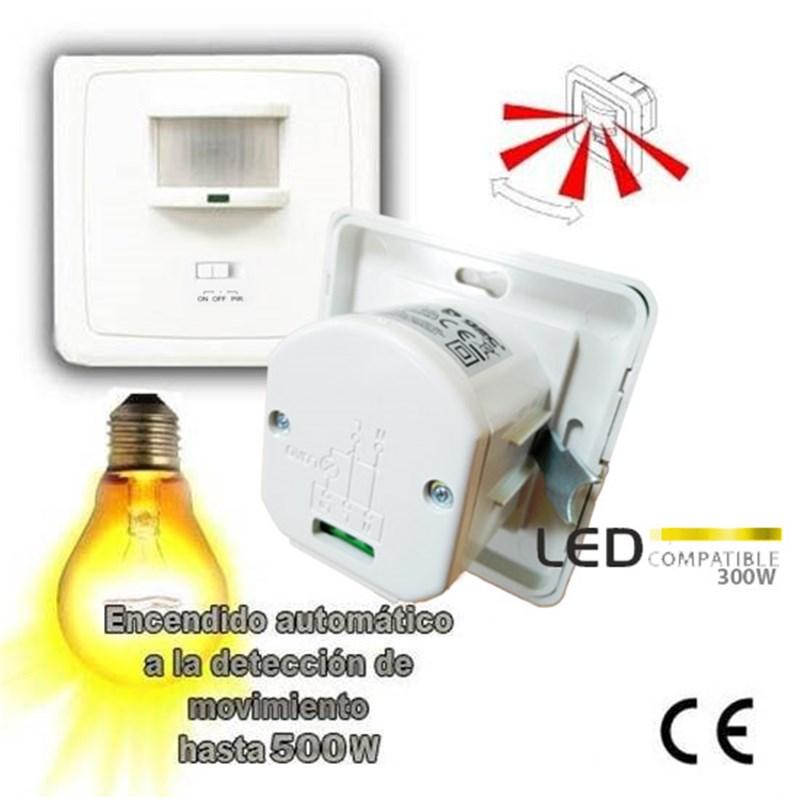 Detector sensor interruptor luz de pared caja - Detector de luz ...