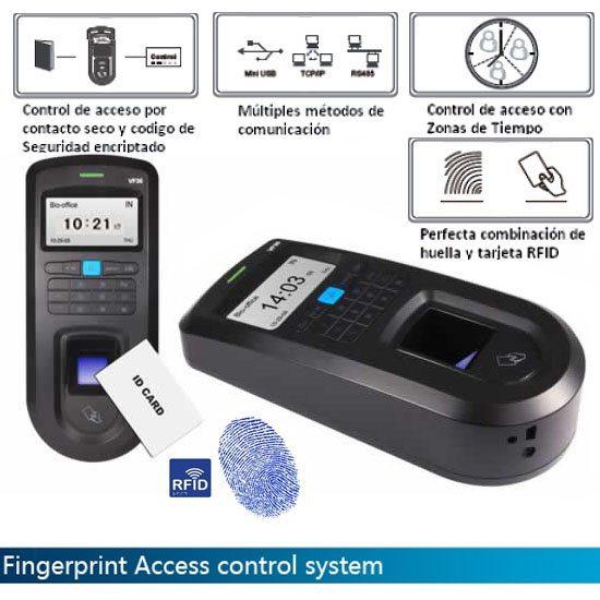 0b557f17730a9 Lector Biométrico Control Accesos por Huella Dactilar