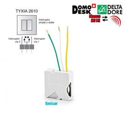 Tyxia 2610 microm dulo emisor de 1 a 2 v as de iluminaci n for Delta dore tyxia 2610