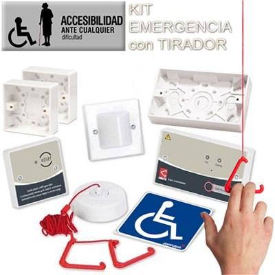 Kit alarma wc para personas con discapacidad o personas for Adaptadores wc personas mayores