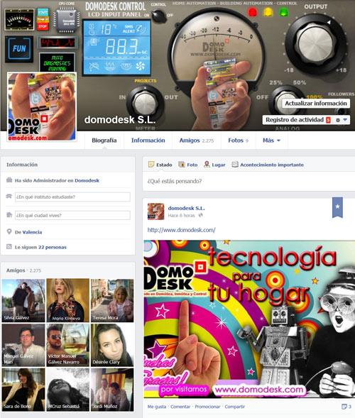 Facebook Domodesk