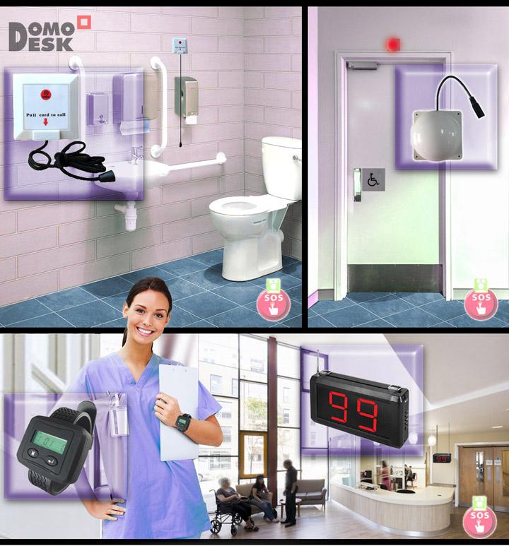 Sistema de aviso baño