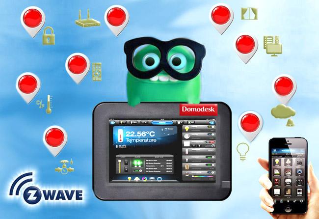 Z-Wave en Domodesk